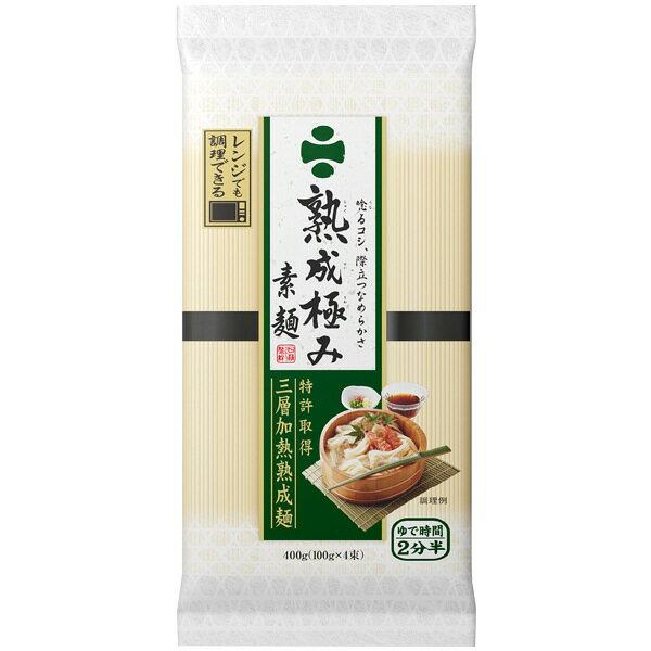 【訳あり】2019年8月12日 日清 熟成極み 素麺 (400g) そうめん 乾麺