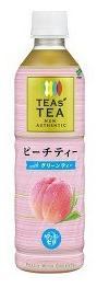 【24本セット♪】 伊藤園 TEAs' TEA NEW AUTHENTIC ピーチティー with グリーンティー PET (450ml×24本)