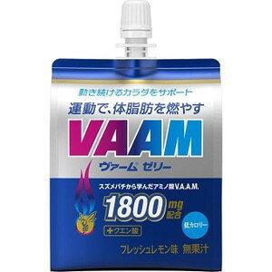 【A】【6本セット】 明治 VAAM ヴァーム ゼリー (180g×6本) ゼリー飲料 スポーツドリンク