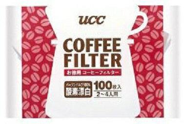 【訳あり 】 UCC コーヒーフィルター お徳用 2-4人用 (100枚入)