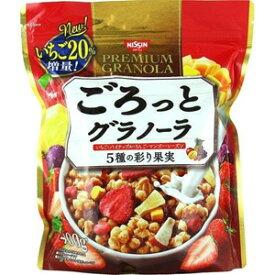 【MA】 日清シスコ ごろっとグラノーラ 5種の彩り果実 (400g) メープル味のシリアルに、5種の彩り果実がたっぷり