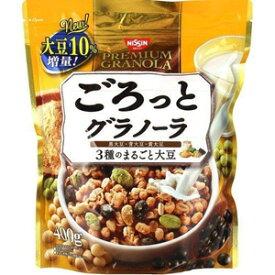 【MA】 日清シスコ ごろっとグラノーラ 3種のまるごと大豆 (400g) きなこ味のシリアルに3種のまるごと大豆がたっぷり
