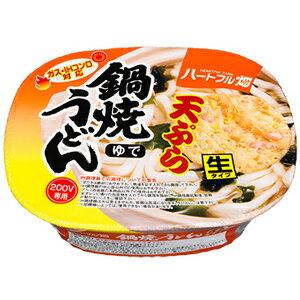 【M 訳あり】 賞味期限:2018年4月30日 ハートフル畑 鍋焼うどん 天ぷら (188g) ガス・IHコンロ対応 生タイプ