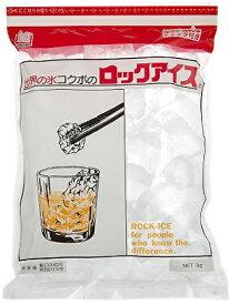 小久保製氷 ロックアイス (1kg)×20個 【M】 冷凍食品