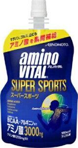 【zr A】 【6個セット】 アミノバイタル ゼリー スーパースポーツ (100g) ゼリー飲料 効果的な運動のサポートに スポーツドリンク