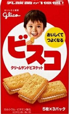 グリコ ビスコ (15枚入) 【y】