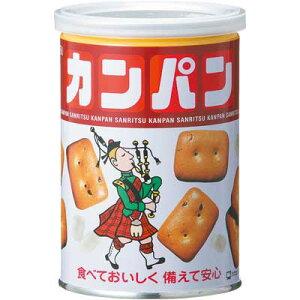 【訳あり 】 賞味期限:2025年4月30日 三立製菓 缶入 カンパン (100g)