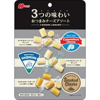 各种奶酪 (60 g) 的到期︰ 2017/1/5 名取 3 小吃的味道