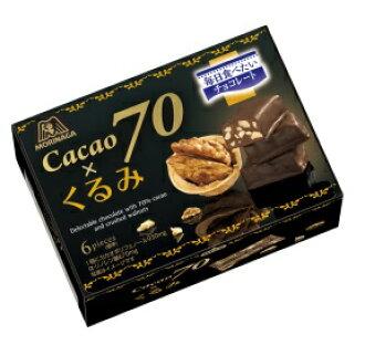 The expiration date: June, 2017 Morinaga & Co., Ltd. cacao 70* walnut treasuring (45 g) chocolate