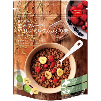The expiration date: July 19, 2018 solar eclipse brown rice flake taste 150 g of the easy milk cacao