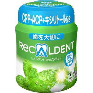 【訳あり】 モンデリーズ リカルデント さっぱりミント ボトル (140g) 菓子