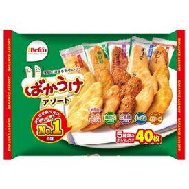 【訳あり】 賞味期限:2019年9月25日 栗山米菓 ばかうけアソート (40枚) せんべい菓子