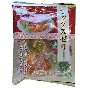 【訳あり】 賞味期限:2020年11月13日 旬菓吉宗庵 ミックスゼリー (165g) 和菓子
