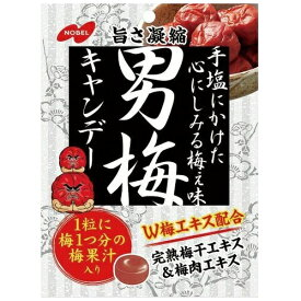【ma】 ノーベル 男梅 キャンデー (80g)