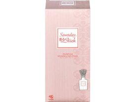 [A] 小林製薬 Sawaday 香るStick パルファム スパークリングピンク (70mL) 部屋用 芳香剤