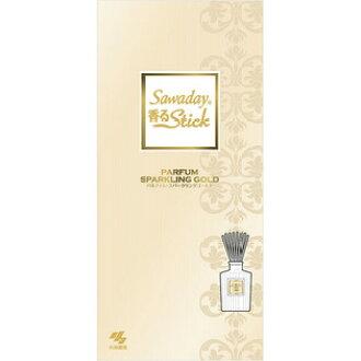 [A] 小林医学 Sawaday 香味棍子都闪闪发光的黄金 (70 毫升) 房间空气清新剂