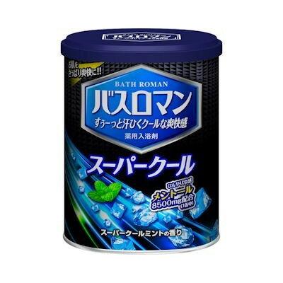 【ME】バスロマン スーパークール スーパークールミントの香り (850g) 入浴剤