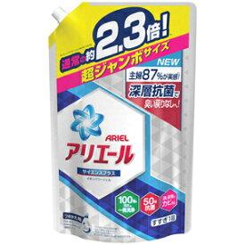 【NK 超ジャンボ サイズ】 アリエール イオンパワージェル サイエンスプラス つめかえ用 超ジャンボサイズ (1.62kg) 液体洗剤 通常の約2.3倍!