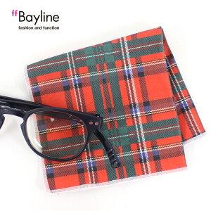 ≪おしゃれで可愛い眼鏡拭き♪≫チェック柄(レッド×グリーン)眼鏡小物 雑貨 おしゃれ プレゼント