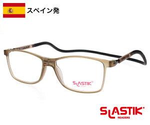SLASTIK CAMDEN シニアグラス 1.0-1.5-2.0-2.5-3.0-3.5 老眼鏡 おしゃれ メンズ シンプル リーディンググラス TR90 軽量フレーム 首掛けメンズ 男性 ギフト 誕生日 グレー 送料無料
