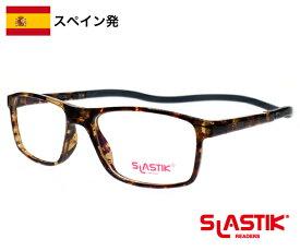 SLASTIK EWOK シニアグラス 1.0-1.5-2.0-2.5-3.0-3.5 シンプル リーディンググラス 老眼鏡 おしゃれ メンズ TR90 軽量フレーム 首掛けメンズ ダークブラウン 送料無料