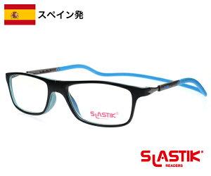 SLASTIK JABBA シニアグラス 1.0-1.5-2.0-2.5-3.0-3.5 おしゃれ シンプル リーディンググラス 老眼鏡 TR90 軽量フレーム 首掛けメンズ バイカラー 青 黒 送料無料