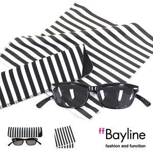 Bayline『neck readers sun glasses』ネックリーダーズfor SUN&クロスセット サングラス ソフトミラーレンズ UVカット メンズ レディース