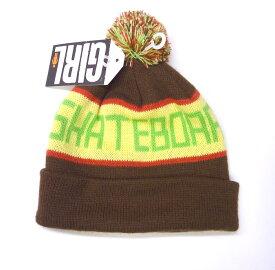 GIRL スケートボード SONIC BEANIE バッグ 小物 ブランド雑貨 帽子 男性用 ニット帽 【ガール正規品】【ビーニー】【あす楽対応】