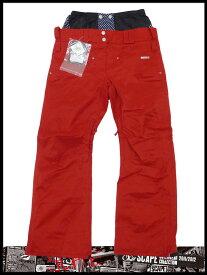 新品 購入可 スポーツ・アウトドア ウインタースポーツ スノーボード レディースウエア パンツ2011-2012モデル SCAPE ARES WOMENS PANTS(RED)Mサイズ エスケープ正規品 あす楽対応 送料無料