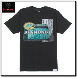 Diamond supply.co NEON T-SHIRT IN BLACK スポーツ・アウトドア ストリート系スポーツ スケートボード ウエア シャツ・Tシャツ