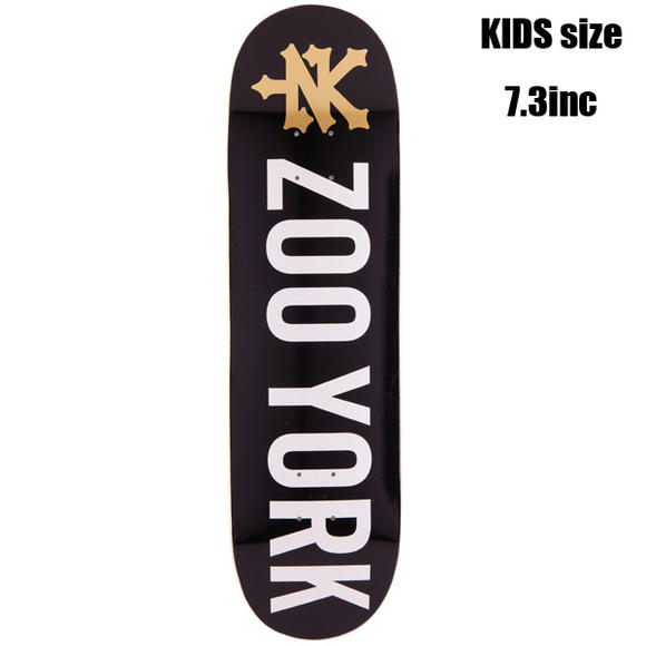 ZOOYORK - PHOTO INCENTIVE BLACK キッズサイズ 7.3inc スポーツ・アウトドア ストリート系スポーツ スケートボード デッキ 子供用