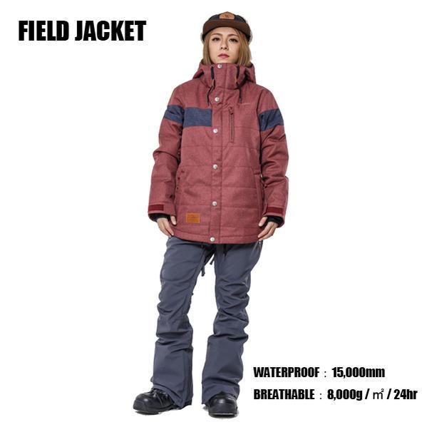 17-18モデル AA HARDWEAR FIELD JACKET ダブルエー ウェア AA スノーボードウェア AA ジャケット WOMENS/レディース
