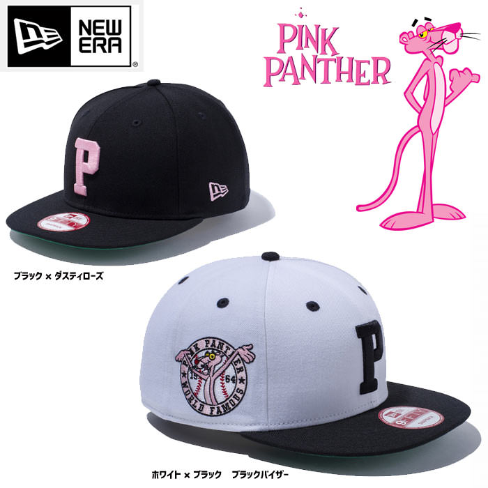 NEWERA 9FIFTY Pink Panther P スナップバックキャップ ニューヨーク ヤンキース バッグ・小物・ブランド雑貨 帽子 男女兼用 キャップ