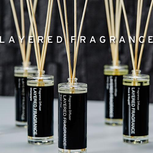 \送料無料/ディフューザー ルームディフューザー アロマディフューザー 楽天ランキング1位LAYERED FRAGRANCE レイヤードフレグランス ディフューザー