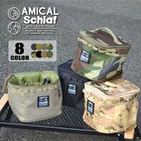 マルチポーチアウトドアキャンプ登山キャンプ用品収納バッグコーデュラCORDURAキャンバス食器工具