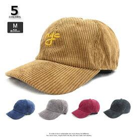 帽子 レディース VA3-102 コーデュロイnyc刺繍ローキャップ メンズ レディース 帽子 レディースサイズ調整可能 アウトドア 登山 ハイキング