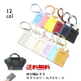 パスケース 定期入れ  レディース  女の子の定期入れ 免許書入れ 伸ばせるパスケース 薄型定期入れ 薄いパスケース 革 鞄に付けれるパスケース