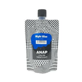 ANAP カラートリートメント パウチ ナイトブルー 150gANAP アナップ ヘアカラー カラーリング 剤髪染め ヘアケア 色落ち 退色 褪色 簡単 カラー剤 取り寄せ商品A