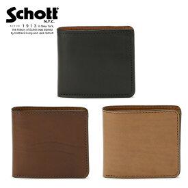 Schott/ショット 公式通販 | VASCO/ヴァスコ/LEATHER VOYAGE SHORT WALLET(9.5×10.5cm)/ショートウォレット 財布 レザー 革財布 牛革【送料無料】