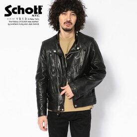 Schott/ショット 公式通販 | DOUBLE BREST RIDERS/ダブルブレスト ライダース 革ジャン【送料無料】