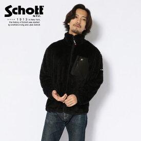 Schott/ショット 公式通販 | LEATHER POCKET PILE JACKET/レザーポケット パイル ジャケット【送料無料】