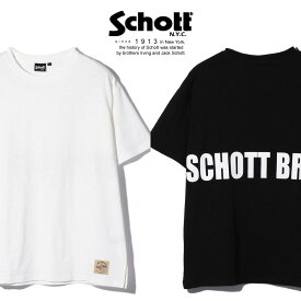 Schott/ショット 公式通販・オンライン限定 | OVERSIZE T-SHIRT SCHOTT BROS./ビッグシルエット オーバーサイズ Tシャツ【送料無料】