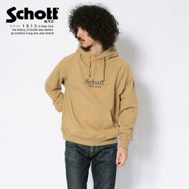 Schott/ショット 公式通販・直営店限定 | HOODED SWEAT THAT'S GOOD/フーデッドスウェット ザッツグッドパーカート レーナー ブランド ロゴ シンプル【送料無料】