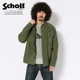 Schott/ショット 公式通販 | FATIGUE SHIRT CAPTAIN SKULL/ファティーグシャツ キャプテンスカル ジャケット 秋アウター【送料無料】