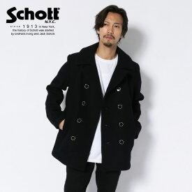 Schott/ショット 公式通販 | SCHOTT × FDMTL(FUNDAMENTAL AGREEMENT LUXURY)/PEA COAT/ファンダメンタルとコラボレーションしたピーコート 冬コート【送料無料】