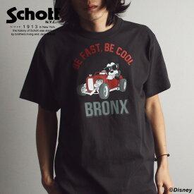 ★SALE | Schott/ショット 公式通販 | Schott/DISNEY/ショット/ディズニーHOT ROD CARに乗り込んだ、ブロンクスの不良のようなCOOLなミッキー T-SHIRT BRONX Tシャツ ブロンクス※セール/アウトレット品につき交換 返品不可