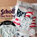 Schott/ショット 公式通販 | 程よい厚みしっかりとした着心地 アメリカンコットンを使用した日本製の無地ポケットTシャツV NECK POCKET TEE (Vネック)アメリカンテイストのパッケ