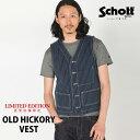 Schott/ショット 公式通販・直営店限定 | SchottショットOLD HICKORY VESTオールドヒッコリー ベスト ウォバッシュ【…