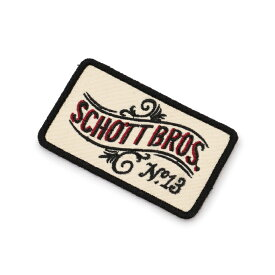 Schott/ショット 公式通販 | SCHOTT/ショット/ No.13 LOGO PATCH/No.13 ロゴ パッチ ワッペン