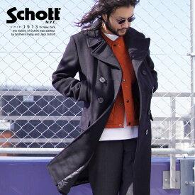 Schott/ショット 公式通販 | Schott/ショット/LONG MELTON PEACOAT/ロング メルトン ピーコート/714US